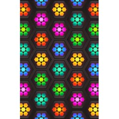 Pattern Background Colorful Design 5.5  x 8.5  Notebooks
