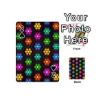 Pattern Background Colorful Design Playing Cards 54 (Mini)