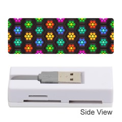 Pattern Background Colorful Design Memory Card Reader (Stick)