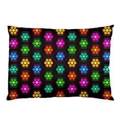 Pattern Background Colorful Design Pillow Case (Two Sides)