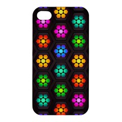 Pattern Background Colorful Design Apple Iphone 4/4s Hardshell Case