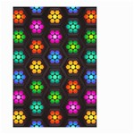 Pattern Background Colorful Design Small Garden Flag (Two Sides)