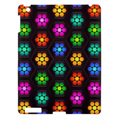 Pattern Background Colorful Design Apple iPad 3/4 Hardshell Case