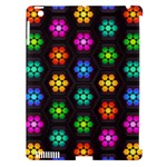 Pattern Background Colorful Design Apple iPad 3/4 Hardshell Case (Compatible with Smart Cover)