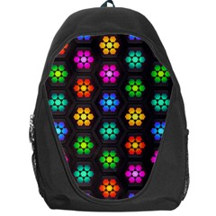 Pattern Background Colorful Design Backpack Bag