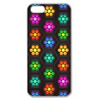 Pattern Background Colorful Design Apple Seamless iPhone 5 Case (Clear)