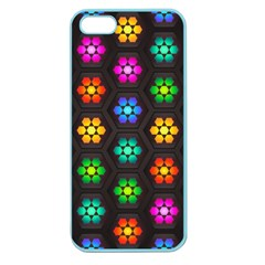 Pattern Background Colorful Design Apple Seamless iPhone 5 Case (Color)