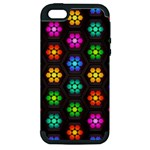 Pattern Background Colorful Design Apple iPhone 5 Hardshell Case (PC+Silicone)