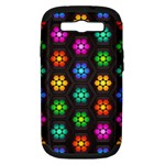 Pattern Background Colorful Design Samsung Galaxy S III Hardshell Case (PC+Silicone)