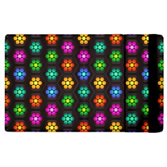 Pattern Background Colorful Design Apple iPad 3/4 Flip Case