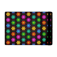 Pattern Background Colorful Design Apple iPad Mini Flip Case