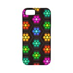 Pattern Background Colorful Design Apple iPhone 5 Classic Hardshell Case (PC+Silicone)