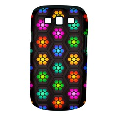 Pattern Background Colorful Design Samsung Galaxy S III Classic Hardshell Case (PC+Silicone)