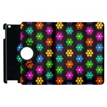 Pattern Background Colorful Design Apple iPad 2 Flip 360 Case