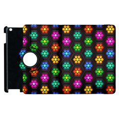 Pattern Background Colorful Design Apple iPad 3/4 Flip 360 Case
