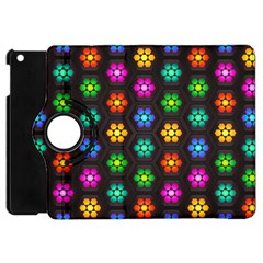 Pattern Background Colorful Design Apple iPad Mini Flip 360 Case