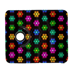 Pattern Background Colorful Design Galaxy S3 (Flip/Folio)