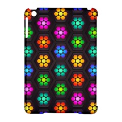 Pattern Background Colorful Design Apple iPad Mini Hardshell Case (Compatible with Smart Cover)