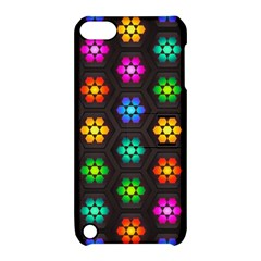 Pattern Background Colorful Design Apple iPod Touch 5 Hardshell Case with Stand