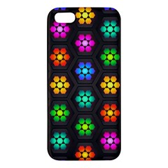 Pattern Background Colorful Design Apple iPhone 5 Premium Hardshell Case