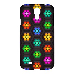 Pattern Background Colorful Design Samsung Galaxy S4 I9500/I9505 Hardshell Case