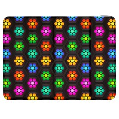 Pattern Background Colorful Design Samsung Galaxy Tab 7  P1000 Flip Case