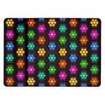 Pattern Background Colorful Design Samsung Galaxy Tab 10.1  P7500 Flip Case