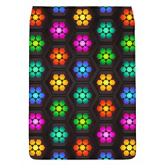 Pattern Background Colorful Design Flap Covers (L)
