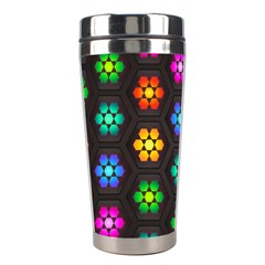 Pattern Background Colorful Design Stainless Steel Travel Tumblers