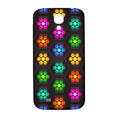 Pattern Background Colorful Design Samsung Galaxy S4 I9500/I9505  Hardshell Back Case