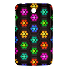 Pattern Background Colorful Design Samsung Galaxy Tab 3 (7 ) P3200 Hardshell Case