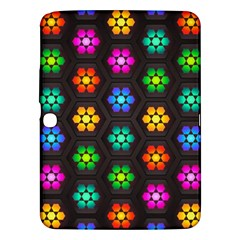 Pattern Background Colorful Design Samsung Galaxy Tab 3 (10.1 ) P5200 Hardshell Case