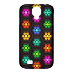 Pattern Background Colorful Design Samsung Galaxy S4 Classic Hardshell Case (PC+Silicone)