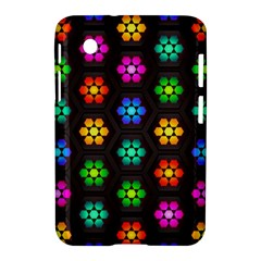 Pattern Background Colorful Design Samsung Galaxy Tab 2 (7 ) P3100 Hardshell Case