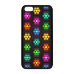 Pattern Background Colorful Design Apple iPhone 5C Seamless Case (Black)