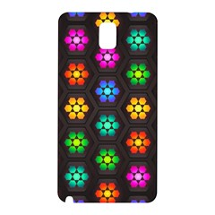 Pattern Background Colorful Design Samsung Galaxy Note 3 N9005 Hardshell Back Case
