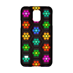 Pattern Background Colorful Design Samsung Galaxy S5 Hardshell Case