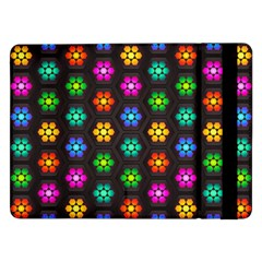 Pattern Background Colorful Design Samsung Galaxy Tab Pro 12.2  Flip Case