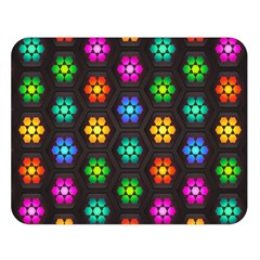 Pattern Background Colorful Design Double Sided Flano Blanket (Large)