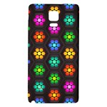 Pattern Background Colorful Design Galaxy Note 4 Back Case