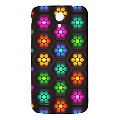 Pattern Background Colorful Design Samsung Galaxy Mega I9200 Hardshell Back Case