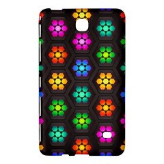 Pattern Background Colorful Design Samsung Galaxy Tab 4 (8 ) Hardshell Case