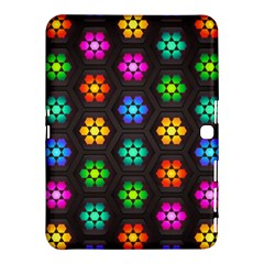 Pattern Background Colorful Design Samsung Galaxy Tab 4 (10.1 ) Hardshell Case