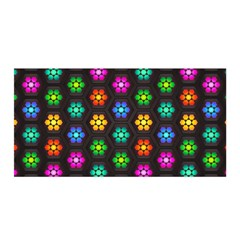 Pattern Background Colorful Design Satin Wrap