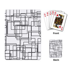Structure Pattern Network Playing Card by Amaryn4rt