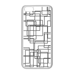 Structure Pattern Network Apple Iphone 5c Seamless Case (white) by Amaryn4rt