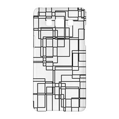 Structure Pattern Network Samsung Galaxy A5 Hardshell Case  by Amaryn4rt