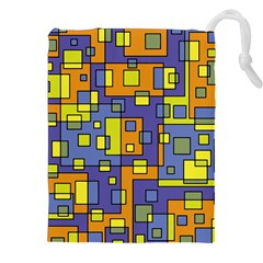 Square Background Background Texture Drawstring Pouches (xxl)