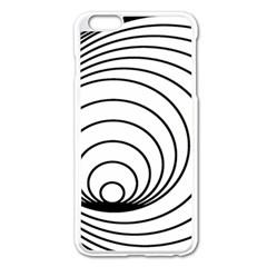Spiral Eddy Route Symbol Bent Apple Iphone 6 Plus/6s Plus Enamel White Case by Amaryn4rt