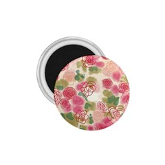 Aquarelle Pink Flower  1 75  Magnets by Brittlevirginclothing